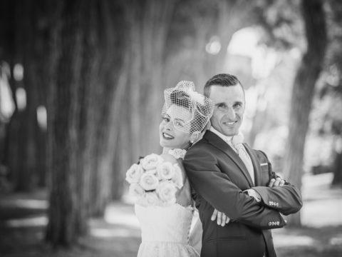 scatti di matrimonio bianco nero